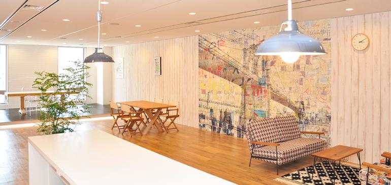 STAFF BRIDGE 広島オフィス:オフィス・ショールーム内装